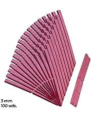 Calzos para acristalamiento, ventanas, tejas/Polietileno/Calzo, 100x22x3mm