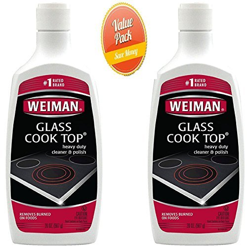 Weiman Glass Heavy Cleaner Polish