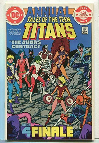 Tales Of The Teen Titans #3 NM ANNUAL Book 4 Finale DC Comics CBX17 (Tales Teen The Of Titans)