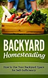 img - for BACKYARD HOMESTEADING: HOW TO USE YOUR BACKYARD SPACE FOR SELF-SUFFICIENCY (Homesteader, Mini Farming Book 1) book / textbook / text book