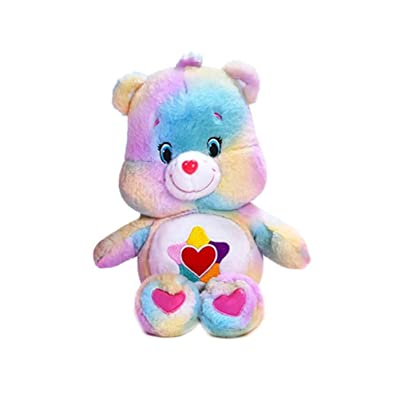 "Retro Styler Care Bears True Heart Bear 10.5"" Plush Toy: Toys & Games"