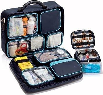 Maletín médico profesional | Asistencia domiciliaria | Compartimentos extraíbles | Gomas de sujeción para el material | Medidas 40 x 30 x 13 cm | Material ...