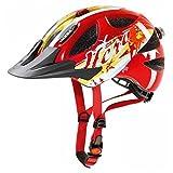 Uvex Ultrasonic Children's Bicycle Helmet Multi-Coloured Hero Red Size:49-54 by Uvex