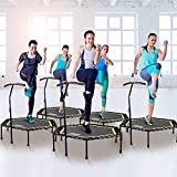 "ONETWOFIT 48"" Silent Mini Trampoline with"