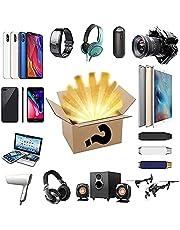 LYKH Mysteries Box Interessante en spannende geluksbox, de Random Surprise Box bevat honderden producten en onverwachte geschenken zoals drones, smartwatches, gamepads, digitale camera's en meer