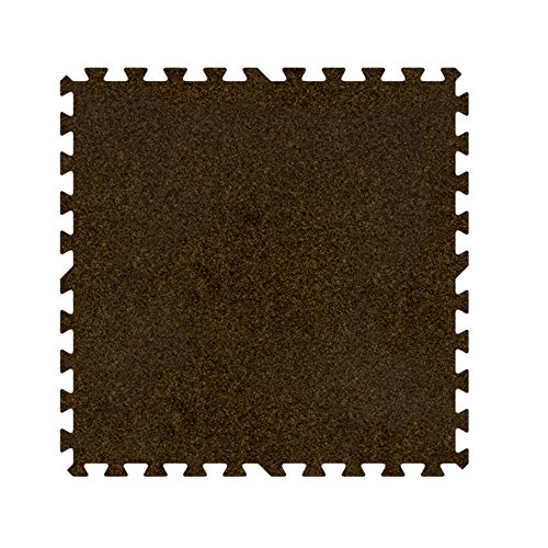 Alessco Premium SoftCarpets Brown (20' x 30' Set)