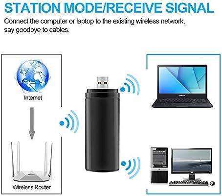 ZMLM - Adaptador WiFi USB para Samsung Smart TV, 802.11ac 2.4 GHz ...