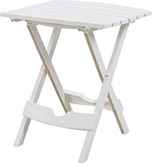 product image for Adams Quik Fold Side Table Wht