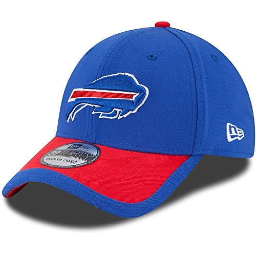 New Era NFL BUFFALO BILLS Authentic On Field Sideline 39THIRTY Game Cap, Größe:S/M