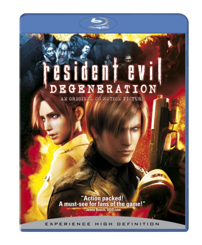 Blu-ray : Resident Evil: Degeneration (, Dubbed, Dolby, AC-3, Widescreen)