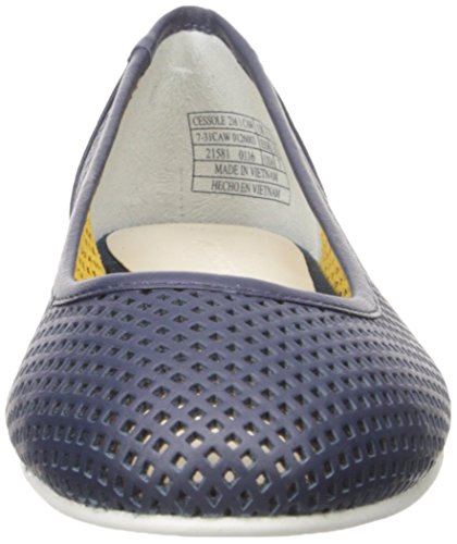 Lacoste Womens Cessole 216 1 Ballet Flat Navy