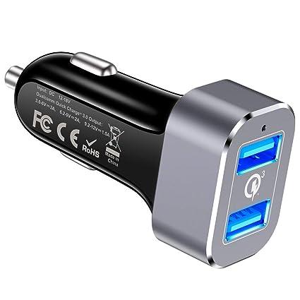 Amazon.com: Capshi Adaptador de cargador de coche: Home ...