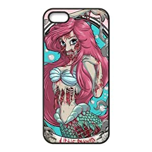Cyber Monday Store Customize Cartoon Zombie Princess Back Case for iphone5 5S JN5S-2154