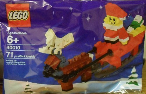 Lego Holiday Seasonal Christmas Santa Claus 40010