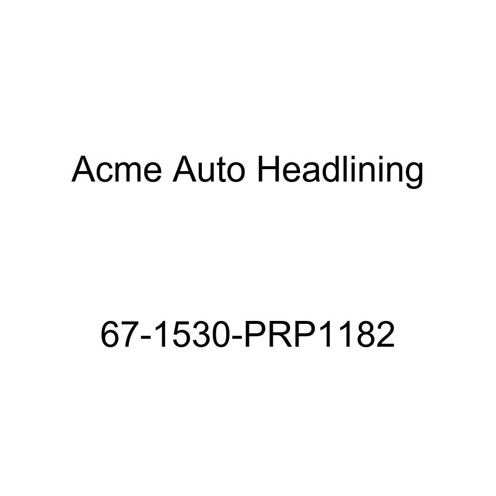 Pontiac Lemans /& Tempest 4 Door Hardtop 6 Bow Acme Auto Headlining 67-1530-PRP1182 Blue Replacement Headliner