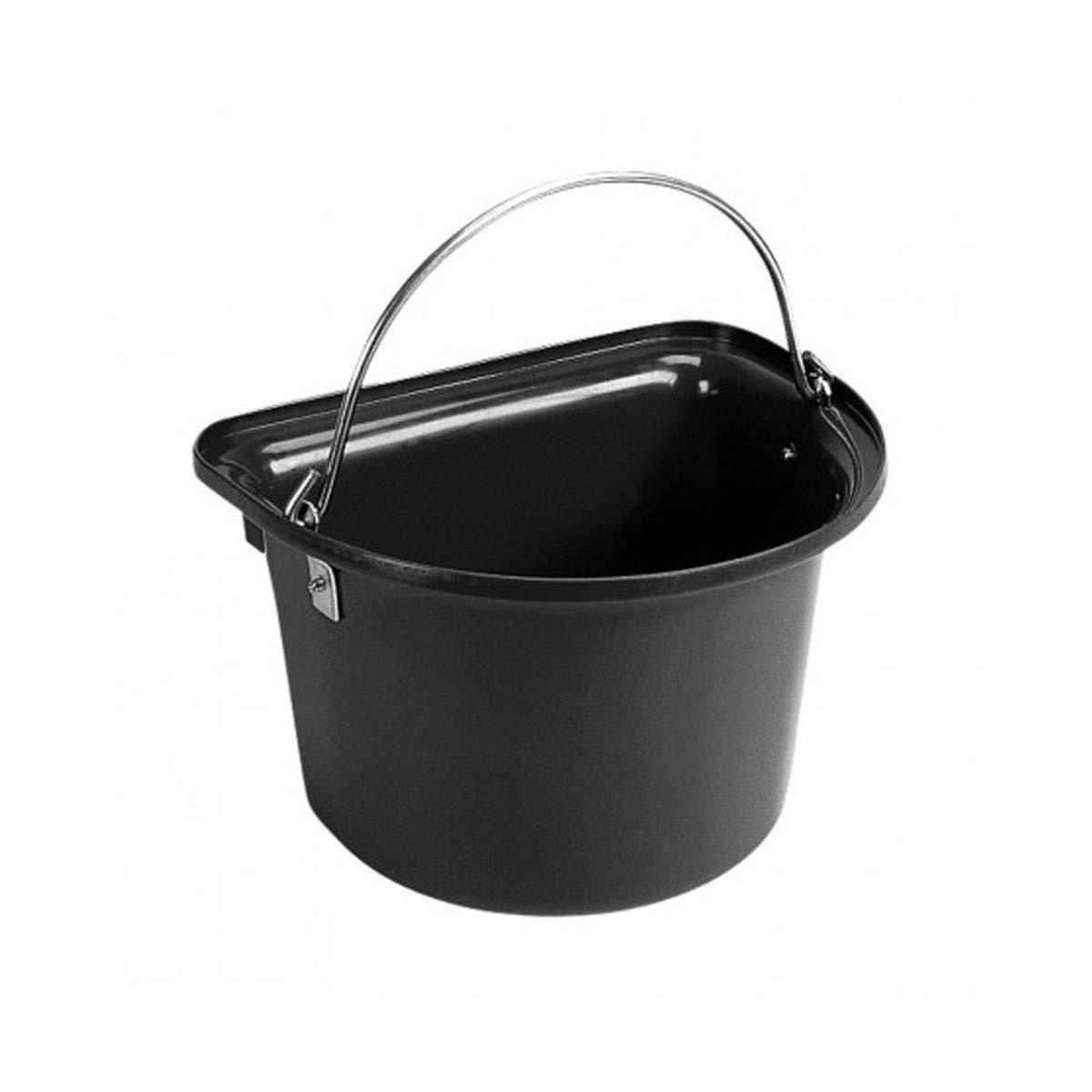 Stubbs Flat Sided Bucket (One Size) (Black) by Stubbs
