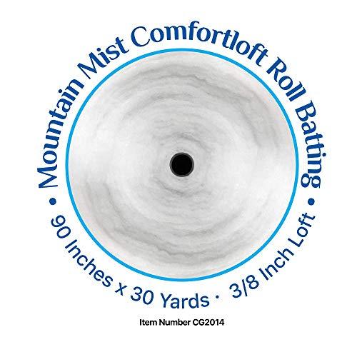 Comfortloft 100% Polyester Batting-by-the-yard- 90 Inch W by Buffalo Batting (Image #1)