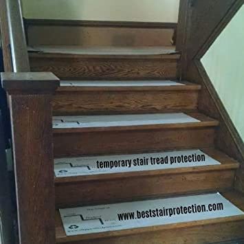 Step Protect PLUS Stair Tread Protection Pads, 36u0026quot; L X 10u0026quot; ...