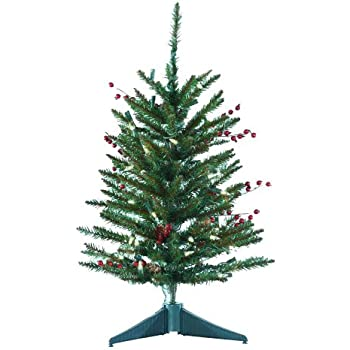 Amazon.com: Small Christmas Tree Indoor Gerson Tabletop 18 ...