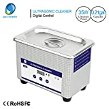 Skymen Professional 0.21Gallon(800ml) Digital Control Ultrasonic Cleaner for Cleaning Jewelry, Rings, Eyeglasses, Lenses, Dentures, Watches, Necklaces, Parts, Coins