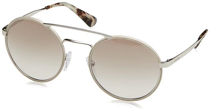 355c1f7df01e Prada Sunglasses 51SS Cinema UFH4O0 Silver Opal Havana Silver Brown Gradient  Mirror