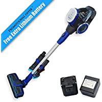 Seamax Multi-Function Stick Cordless Vacuum Cleaner, with Easy Access Dual High Power 22.2V Lithium Ion 2200mAh Rechargeable Battery Promotion