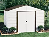 Arrow Shed PM108-A Parkview 10-Feet by 8-Feet Steel Storage Shed