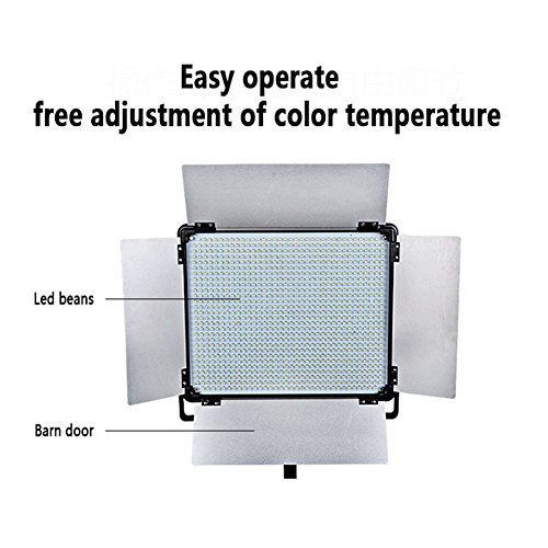 wireless led lights idobol e 2000 bi color 1724 led photography light panel 11000