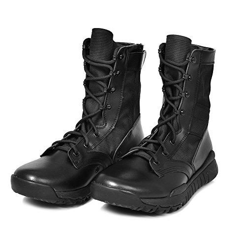 cadetti e Militari qualit Stivali Polizia per in in Tattici Pelle di Combattimento Alta PANY da e Pelle Militari RzSRw