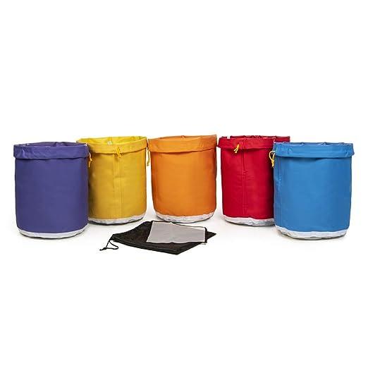 Hyindoor Bubble Hash Bag Bolsa de Extracción de Esencia de Hierbas (5 Gallon 5 Bolsas)