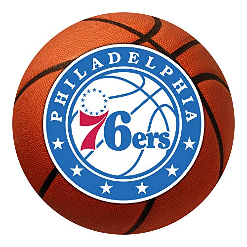 FANMATS NBA Philadelphia 76ers Nylon Face Basketball Rug