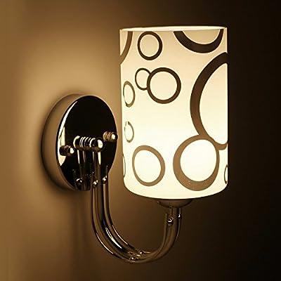 Lampe Murale Créative Moderne Lampe Murale Moderne Luminaire Créatif Et  Minimaliste Lampe Murale à Led Escalier Salon Appliques En Fer  Allée,A,10*24cm