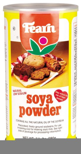 100% Soya Protein (Fearn All Natural Soya Powder, 1.5 Pound -- 12 per case.)