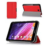 ProCase SlimSnug Case for ASUS MeMO Pad 7 (ME176CX, ME176C) Tablet 2014, Ultra Slim and light, Hard Shell Cover, with Stand (Red) Color: Red Size: MeMO Pad 7 ME176CX (Slimsnug) Model: