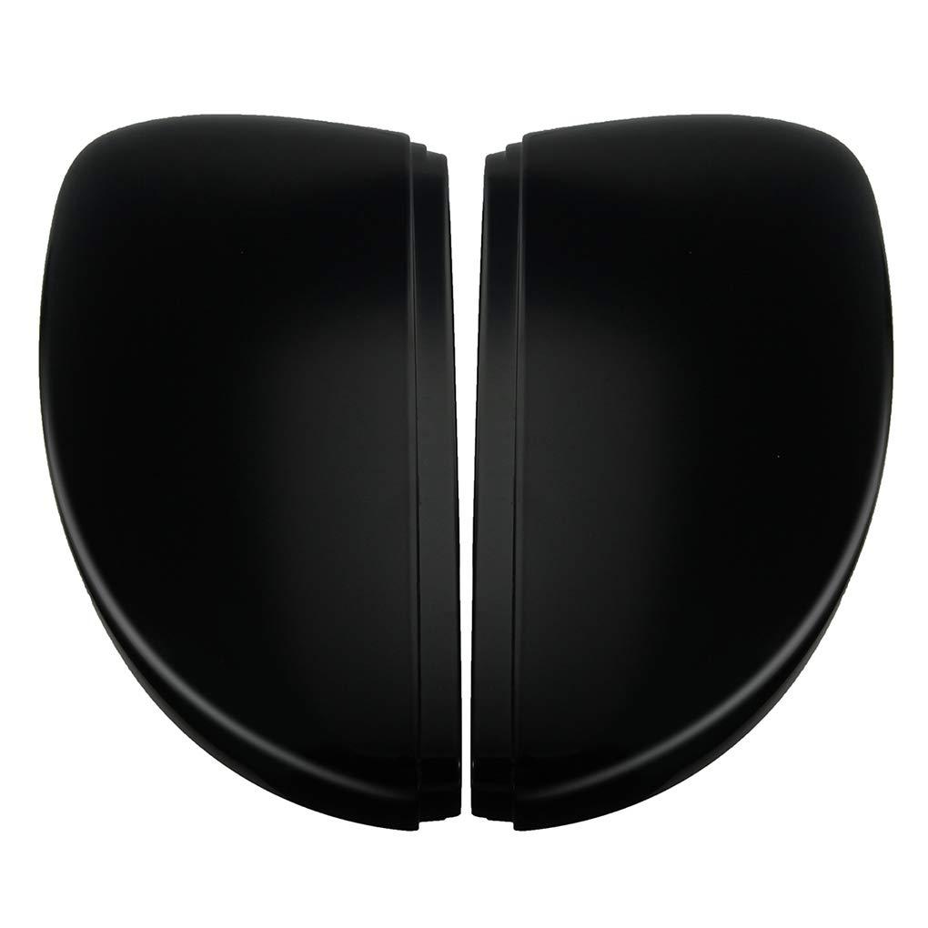 DIAMOEN 1 paio Nero L R posteriore Coperchio della Specchietto di copertura Tappo per Passat 11-15 Scirocco 09-17