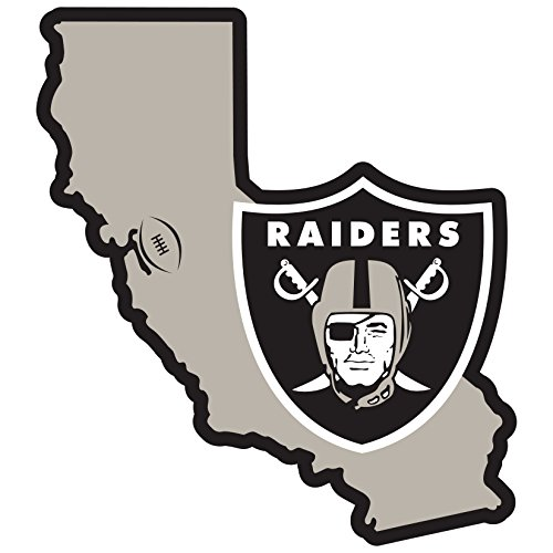 (Siskiyou NFL Oakland Raiders Home State Magnet, 11