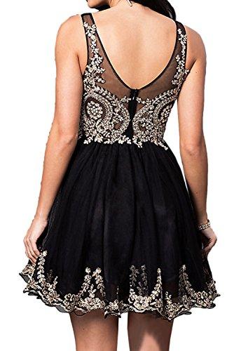 Damen Mini Weiß Ivydressing Spitze V Ausschnitt Zaertlich Abendkleider Brautjungfernkleid Festkleider gdSqpwR