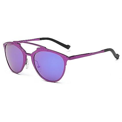 Ju-sheng Gafas de Sol polarizadas para Mujeres pequeñas y ovaladas. Protección Total contra