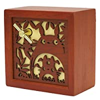 Ghibli next Totoro wood carving relief BOX type Music Box Totoro