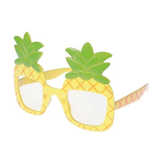 BESTOYARD Piña Gafas Hawaii Playa Fiesta Disfraz Luau Fiesta ...