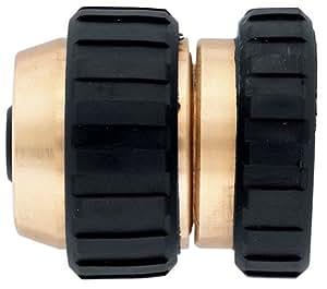 Orbit 5/8-Inch Female Brass Heavy Duty Hose Mender 58370