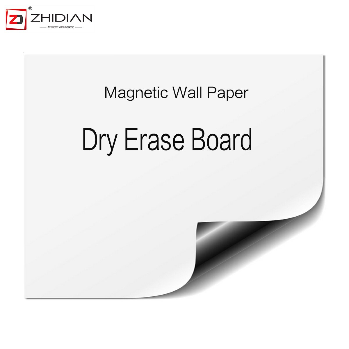 ZHIDIAN Magnetic Dry Erase Boards Sheets for Fridge Small Whiteboard for Home Kitchen Refrigerator Calendar 23×17 Inches (17 x 23 inch 3 Pack)