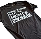 LeRage Shirts Men's | SORRY LADIES I'M IN THE NIGHT'S WATCH | Funny T-Shirt Black Large