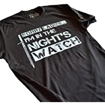 LeRage Shirts Men's | SORRY LADIES I'M IN THE NIGHT'S WATCH | Funny T-Shirt