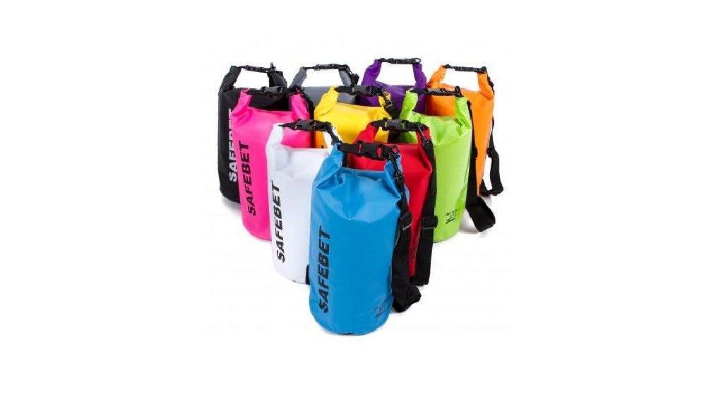 SAFEBET Waterproof Shoulder Dry Bag Pouch 8L (Green) (L x W x H), 46 x 32
