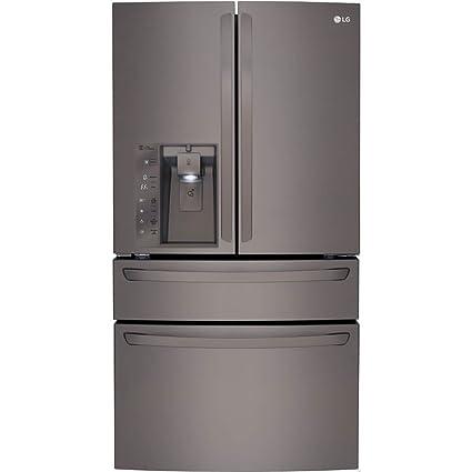 Delicieux LG LMXC23746D 36u0026quot; Energy Star Freestanding French Door Refrigerator  With 23 Cu.ft.