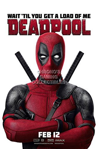 CGC Huge Poster - Marvel Deadpool Movie Poster - MDD002 )