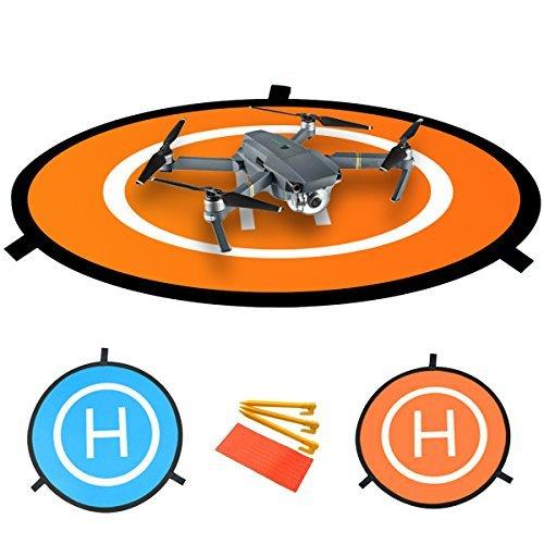 "PGYTECH 30""/75 Portable Fast-Fold Landing Pad RC Drones Helicopter for DJI Mavic 2 / Mavic Air/Mavic Pro/Phantom 2/3/4/4 Pro, Inspire 2/1"