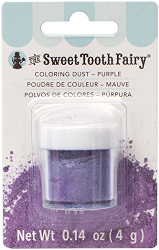 - American Crafts Sweet Tooth Fairy Sprinkle Magic Color Dust Purple,