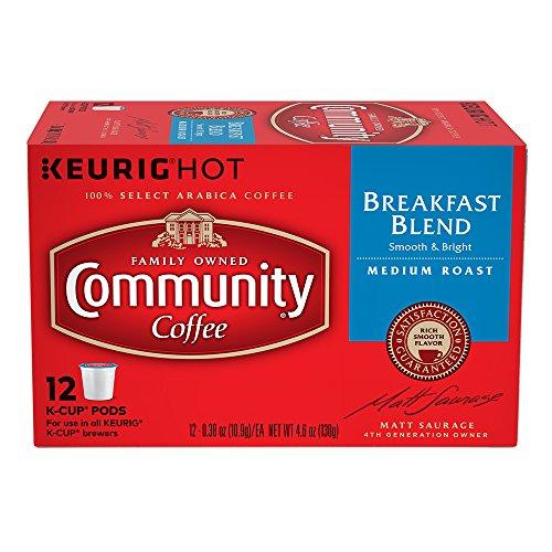 Community Coffee Single Serve Breakfast Blend
